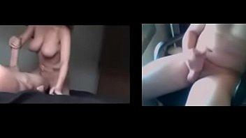 Загорелые лесбияночки сосут на вебку аккуратные мокрощелки и мастурбируют их пальчиками